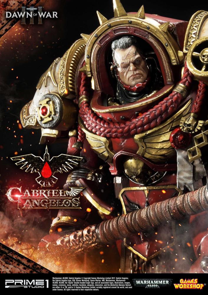 Dawn of War Gabriel Angelos Statue from Prime 1 Studio!