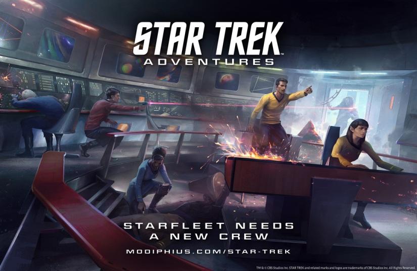 Star Trek Adventures: Spicing things up alittle!
