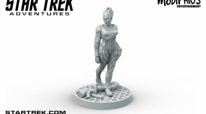 Final Week to Pre-order Star Trek Adventures and Borg Queen revealed