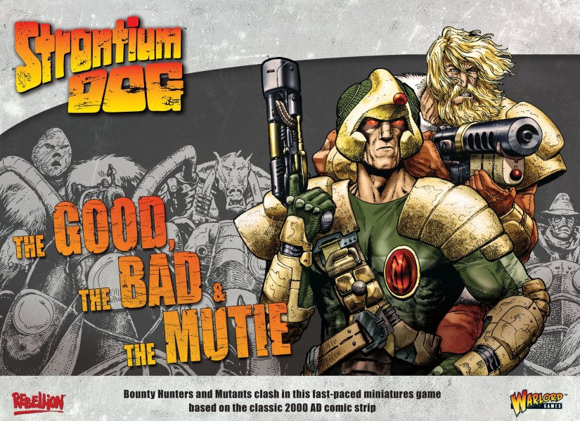 Warlord Games announces Strontium Dog Miniatures Game Pre-Orders