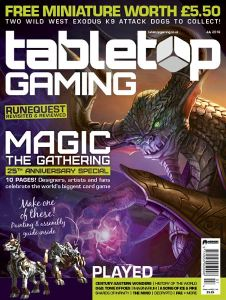 Free Assault Dogs with Tabletop Gaming UK Magazine! | GAMERS WEB