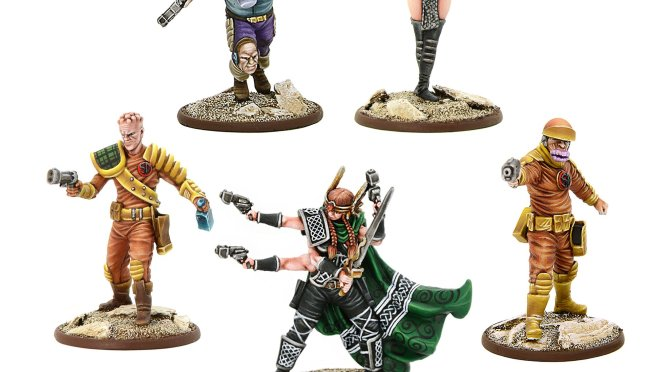 New Pre-Orders for Strontium Dog from Warlord!