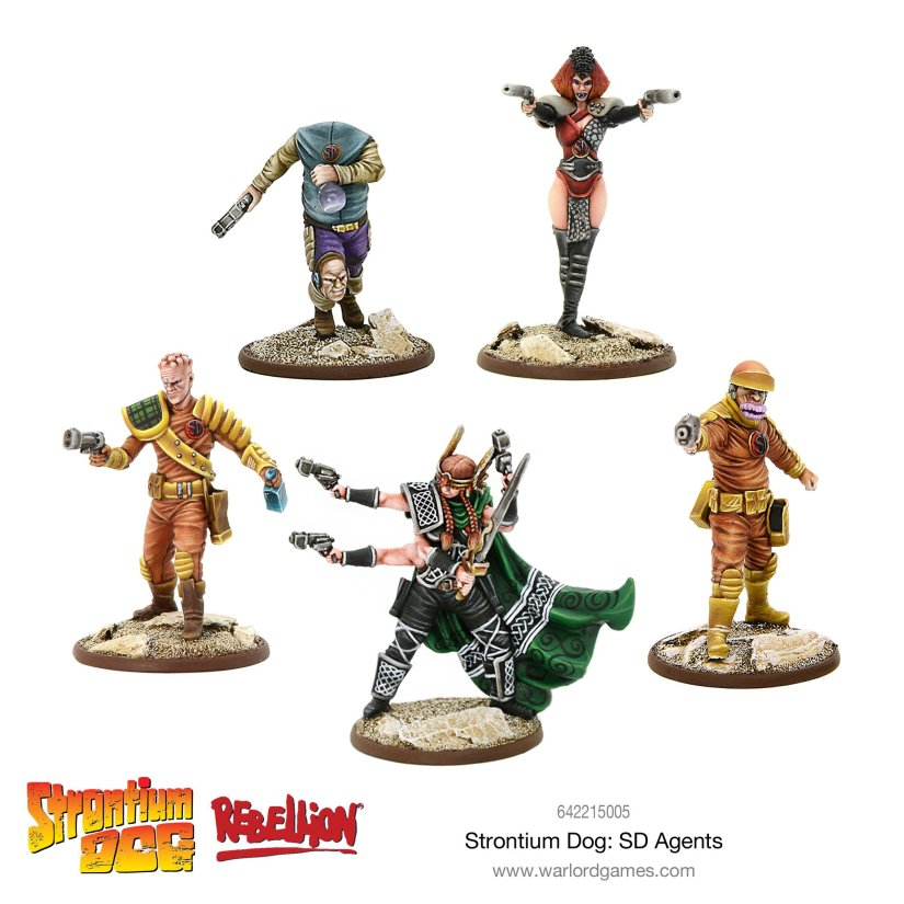 New Pre-Orders for Strontium Dog fromWarlord!
