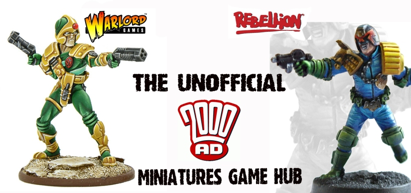 Changes to the Unofficial Judge Dredd Miniatures Page