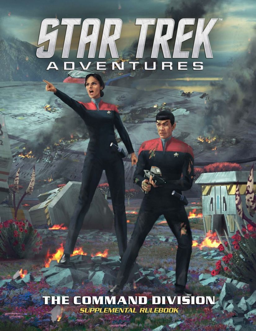 Command Division Supplement now available for Star Trek Adventures