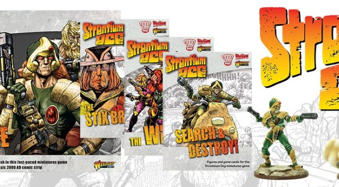 Strontium Dog: The Good, The Bad and The Mutie in stores this weekend