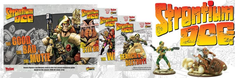 Strontium Dog: The Good, The Bad and The Mutie in stores thisweekend