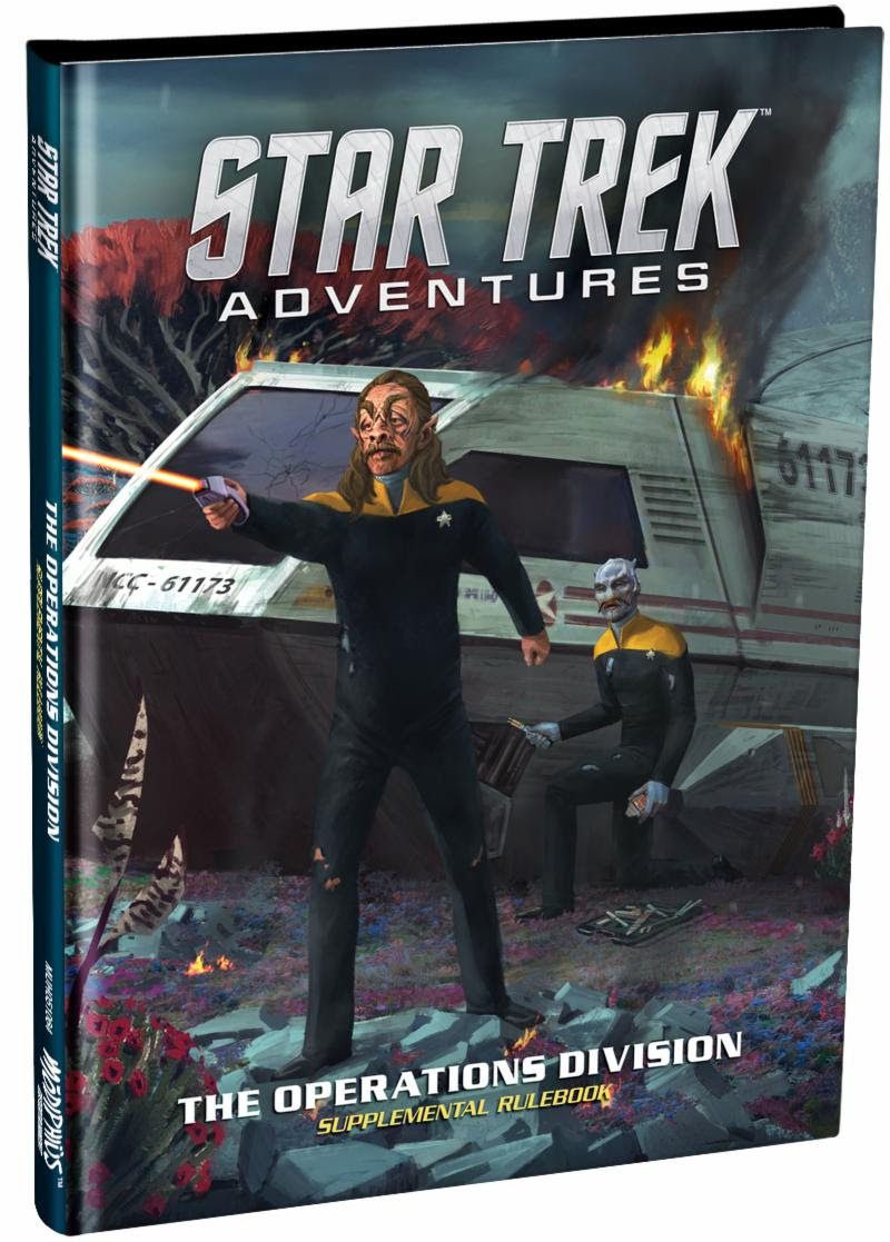 Star Trek Advenures: Operations Manual Now Out (Modiphius Entertainment)