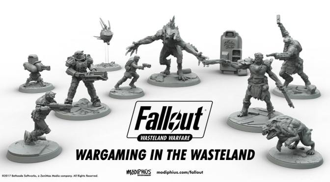 Excellent Fallout Wasteland Warfare Playthrough from Guerrilla Miniature Games