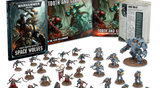 Tooth and Claw. New Space Wolves and Genestealers up for pre-order!