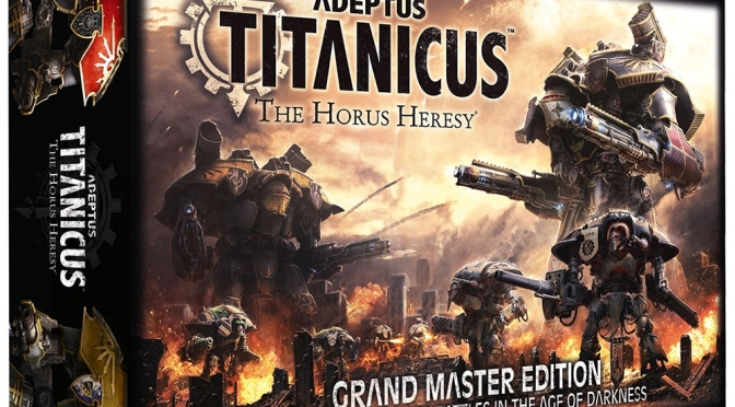 Adeptus Titanicus The Horus Heresy coming soon from Games Workshop
