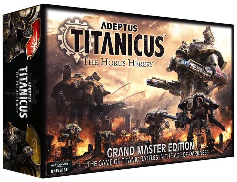 Adeptus Titanicus Grand Master Edition Sold OUT?