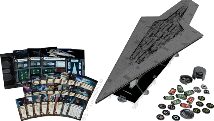 Bigger is better, but biggest is BEST!  Executor for Star Wars: Armada