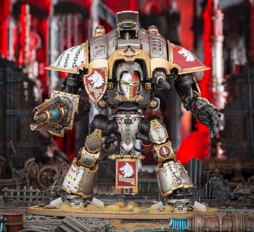Knight Preceptor Canis Rex on Pre-Order!