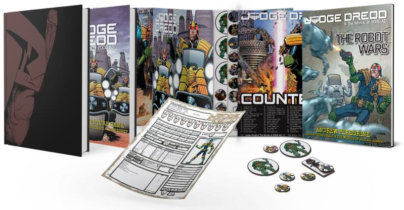 Judge Dredd & the Worlds of 2000AD now on Kickstarter!