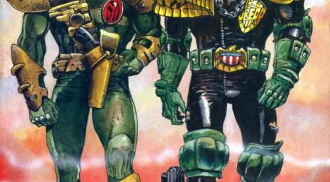 2000AD A History in Miniature