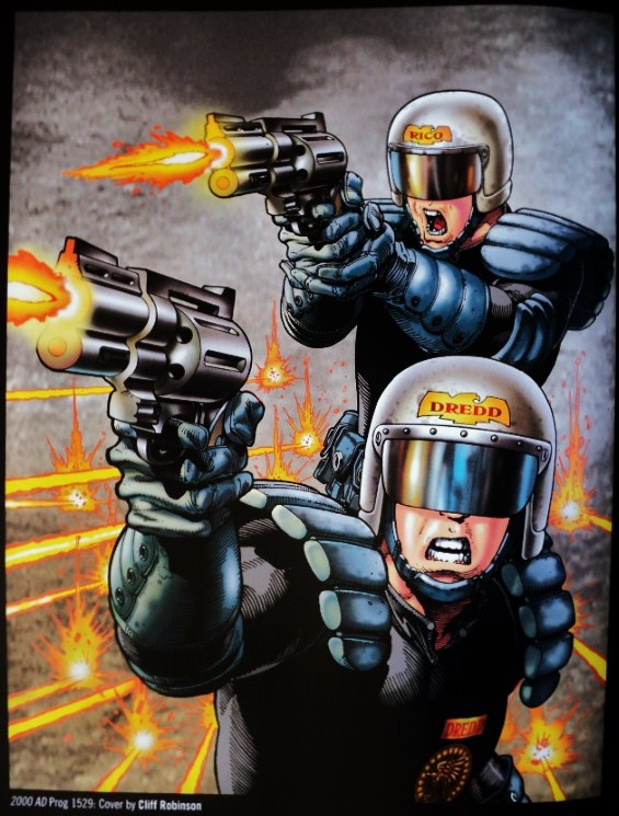Judge Dredd and the Worlds of 2000AD playable Quickstartreleased!