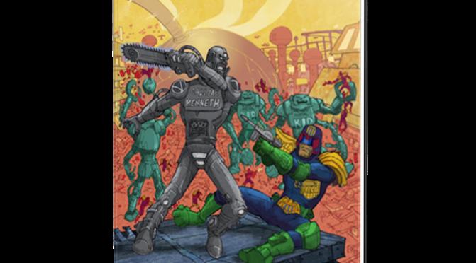 Sneek Peek at The Robot Wars