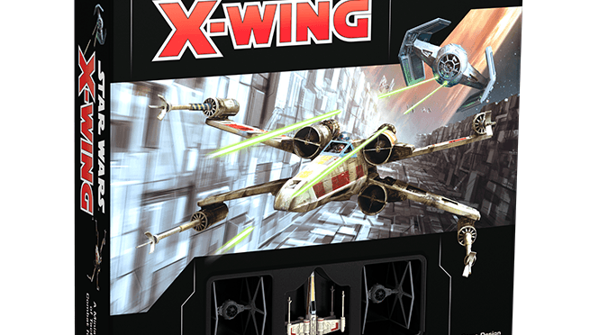 X-Wing 2nd Edition UNboxed