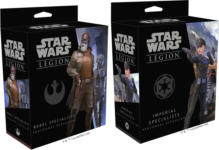 What makes you so Special? A look at Specialists for Star Wars:Legion
