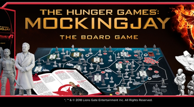 Hunger Games: Mockingjay the Board Game update