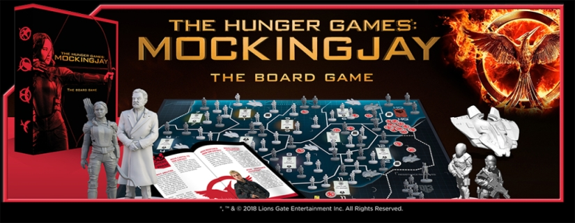 Hunger Games: Mockingjay the Board Game update 2