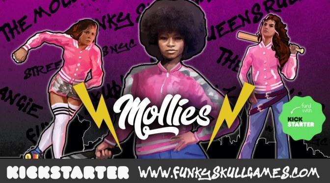 Street Wars NYC: The Mollies now on Kickstarter (Funky Skull Games)