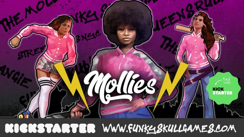 Street Wars NYC: The Mollies now on Kickstarter (Funky Skull Games)