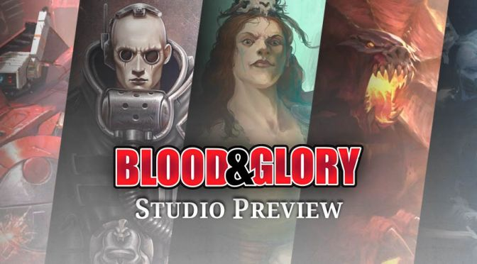 Warhammer Quest Blackstone Fortress Updates and much more from Blood and Glory Studio Preview (Games Workshop)