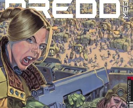Judge Dredd Megazine #402 A tribute to Carlos Ezquerra