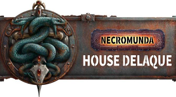 House Delaque previewed for Necromunda (Games Workshop)