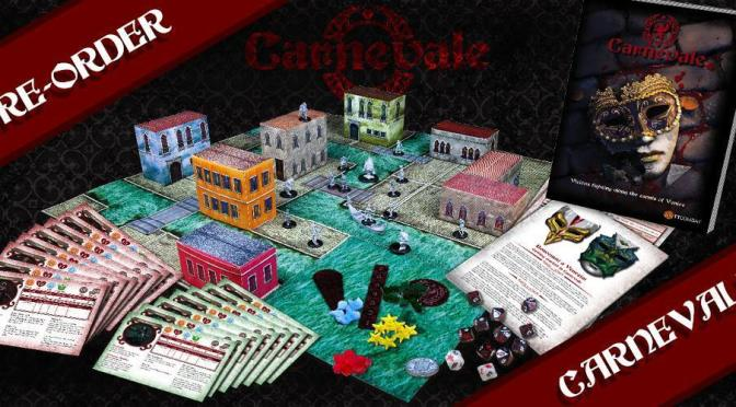 Carnevale 2 Player Starter now on Pre-Order (TTCombat)