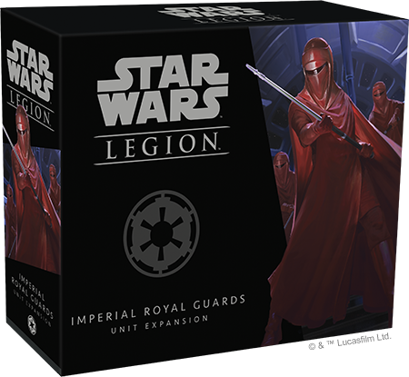 Loyal to the bitter end!  Royal Guard previewed for Star Wars: Legion (Fantasy Flight Games)