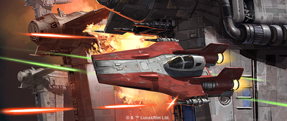 Star Wars X-Wing 2nd Edition Wave III and  RZ-2  A-Wing previews