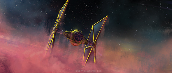 Mining Guild TIE Expansion Pack for X-Wing Previewed (Fantasy Flight Games)