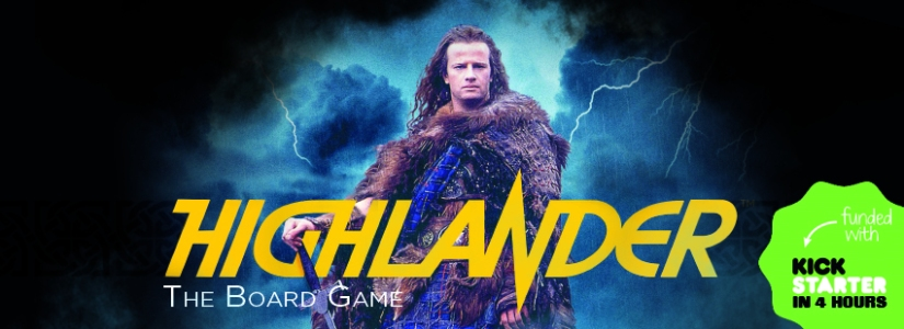 Don't Lose your Head! A closer look at Highlander the Board Gamesminiatures