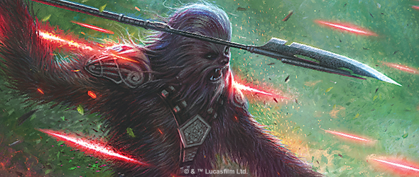 Wookiees everywhere!  (Fantasy Flight Games)