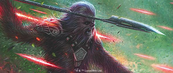 Wookiees everywhere!  (Fantasy Flight Games)