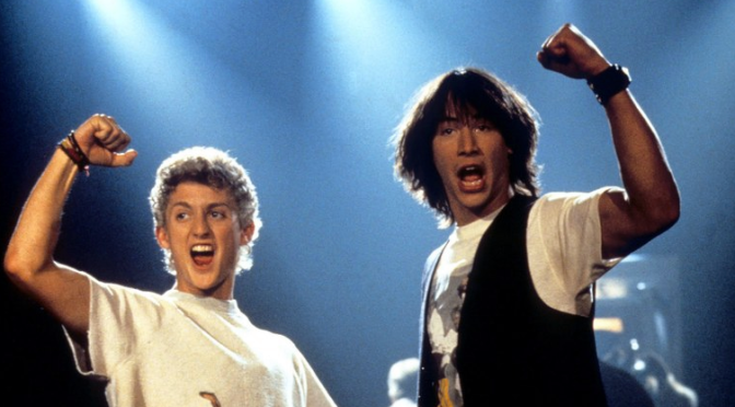Drop the Bass, Death is back in town! Bill & Ted Face The Music