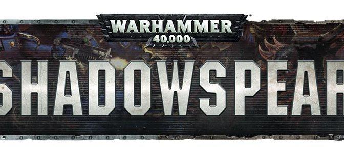 Shadowspear Pre Orders