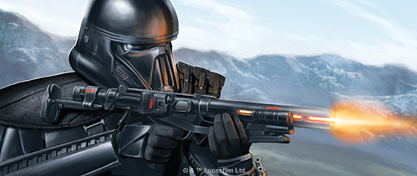 Death before Dishonour. Star Wars Legion:  Fantasy Flight Games