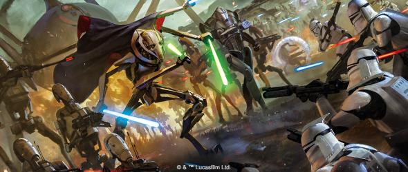 Star Wars Legion:Clone Wars Core Set Announced. Fantasy Flight Games