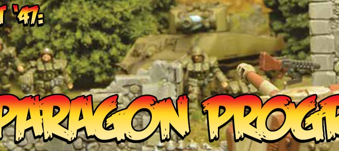 We can do this all day!  US Paragon Squad for Konflikt 47. Warlord Games