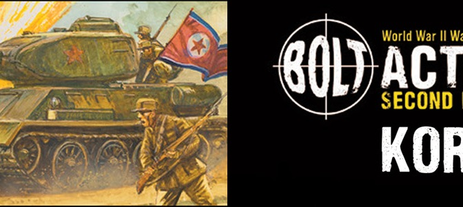 New for Bolt Action: Korea. Warlord Games