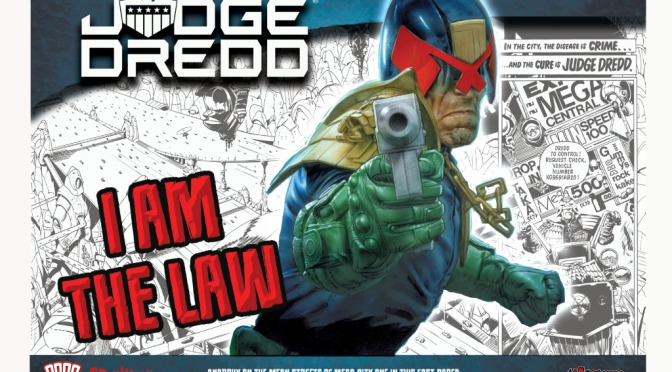 Judge Dredd Miniatures Game preorders Friday 18th October. Warlord Games