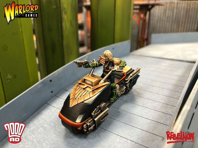 Don't Even Think it Creep! Judge Anderson Warlord Games