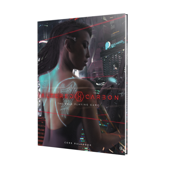 Altered Carbon Roleplaying Game Book 3D