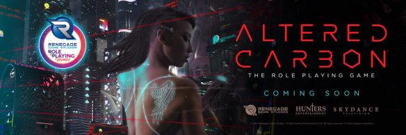 Altered Carbon The Roleplaying Game Coming Soon!