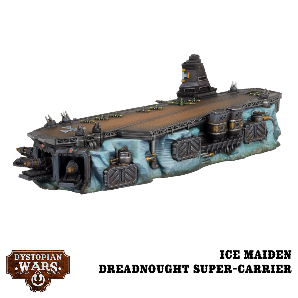 Ice Maiden Dreadnought Super Carrier